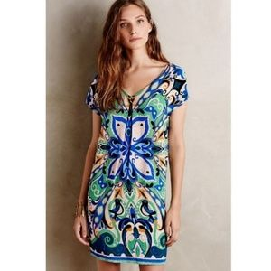 Anthropologie Maeve Folksong Shift Dress Bird
